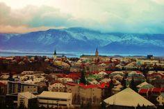 Beautiful shot of Reykjavík. Photo taken by my Pabbi.