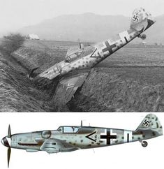 During an attempt to land in Switzerland, Siegfried Henning Stab III. Ww2 Aircraft, Fighter Aircraft, Military Aircraft, Luftwaffe, Air Fighter, Fighter Jets, Aircraft Painting, Cleveland, Ww2 Planes