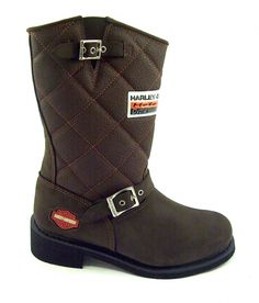Harley Shoe Boots, Shoes, Rubber Rain Boots, Riding Boots, Harley Davidson, Biker, Fashion, Moda, Zapatos
