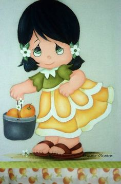 trendy Ideas for nature dessin enfant Tole Painting, Fabric Painting, Cute Little Girls, Cute Kids, Deco Paint, Greeting Card Shops, My Beautiful Friend, Picture Postcards, Twin Quilt