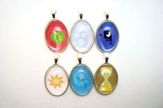 Might buy this. I'd get Luna and Twilight Sparkle. (My Little Pony FiM Cutie Mark Glass Pendant Many by Sonnetarium. $5.00, via Etsy.)