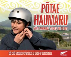 Road Safety Education, especially how to wear a helmet from Raglan Area School