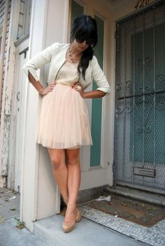 Lovely outfit/color palette for the Holiday Season