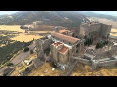 Aldea del Rey. Castillo de Calatrava La Nueva a vista de Drone