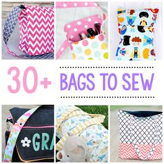 If it hasn't already become apparent on my blog, I love to sew bags. And I sew a lot of bags. Do you like to sew bags? I thought it would be fun to pull together a roundup of 25 bag sewing pa…