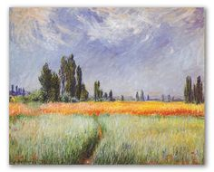 Claude Monet, cuadros bellos, obras impresionistas.