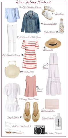 What to Pack for a Wine Tasting Weekend | Cupcakes and Cashmere | Bloglovin'