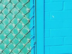 Blue fence | VSCO | hayllucination