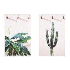 2 tele con stampe botaniche, 80x130 | Maisons du Monde - COSTA RICA