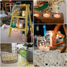 country decorating on a budget | Wedding On a Budget | Texas Country Wedding With Vintage Decorations ...