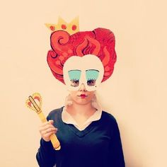 Creative Cardboard Masks by Sandra Suárez                                                                                                                                                     More