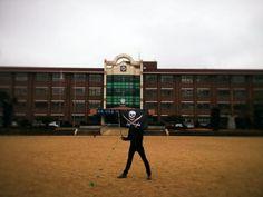 [Occupied] 대전 만년중학교    by Cap'n @Ahopsi        Make your own Flag, visit  http://thepirateflag.tumblr.com