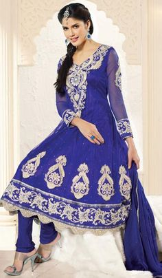Purple Net Wedding Wear Embroidered Dress Material.    Product Code : G3-LDM203374  Price : INR RS 5328