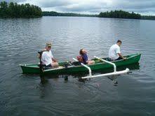 Homemade Canoe Stabilizer | DIY | Canoe stabilizer, Kayak outriggers, Kayak fishing