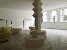 plinth inspiration / Shifting Worlds by Sarah K of Blakebrough+ King | Yellowtrace