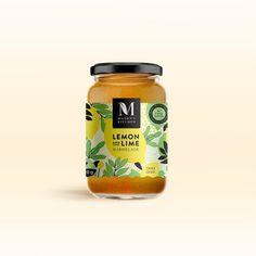 Emma Philip - Fun labels for Madre's Kitchen, designed @janesaysdesign 🍓 #packaging #illustration #design