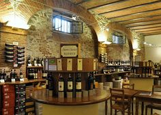 Greve in Chianti, Il Cantine, Tuscany, Italy.