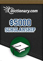 Dictionary.com College Scholarship! #College #Scholarships
