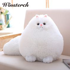 Cheap toys gift, Buy Quality animal peluche directly from China stuffed animal Suppliers: Fun Plush Fluffy Cats Persian Cat Toys Pembroke Pillow Soft Stuffed Animal Peluches Dolls Baby Kids Toys Gifts Brinquedos Stuffed Animal Cat, Stuffed Animals, Stuffed Toy, Cat Pillow, Plush Pillow, Cushion Pillow, Cat Cushion, Cute Plush, Fluffy Cat