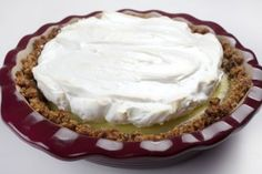 Passover Key Lime Pie