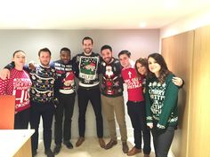Christmas Jumper day @ Keatons Bow office