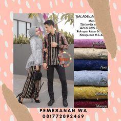 Setelan Model Baju Batik Couple Kebaya Sarimbit Model Pinguin Kombinasi Broklat Motif Lurik Batik Couple, Baseball Cards, Couples, Grey, Cover, Gray, Couple