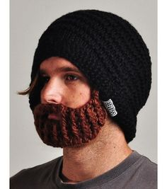 Beardo hat for the victims of winter      Annnnnnnd the beardless...