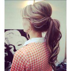 1950 ponytail now