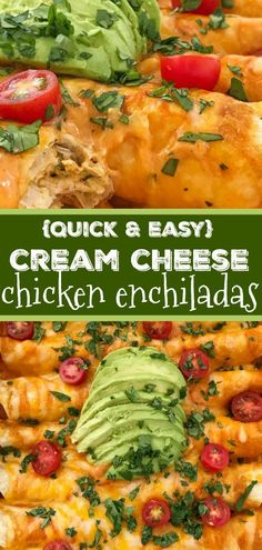 Hypoallergenic Pet Dog Food Items Diet Program Cream Cheese Chicken Enchiladas Chicken Enchiladas Dinner Recipe 30 Minute Dinner Quick And Easy Chicken Enchiladas With Cream Cheese Easy Family Dinner That Everyone Loves. Quesadillas, Easy Family Dinners, Easy Meals, Burritos, Nachos, Flautas, 30 Minute Dinners, Enchilada Recipes, Enchilada Sauce