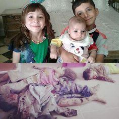 Syrian Tasniim (9), Amaad (8) & Riimas Darwiish (8/12) b4 & after Syrian/Russian airstrikes (1438.2.18 H Suuriiyaa, `Shaam, Ghouta, Jisriin) Secular communist terrorist