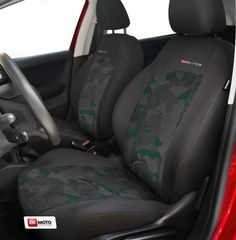 VAUXHALL ASTRA GTC Heavy Duty Black Waterproof Car Seat Covers 2 x Fronts