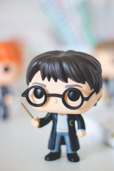 Funko Pop do Harry Potter da série Harry Potter. Post sobre com detalhes e fotos no blog Serendipity: http://melinasouza.com/2015/08/24/funko-pop-harry-potter-hermione-ron-snape-e-valdemort/