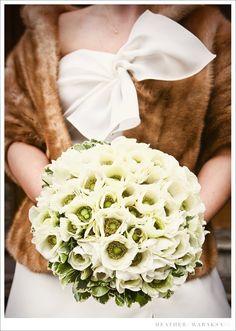 little winter bride: winter weddings
