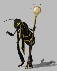 Ah Muzen Cab- Mayan myth: the god of bees and honey
