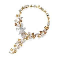 Buy online, view images and see past prices for 18 KARAT GOLD, PLATINUM AND DIAMOND NECKLACE AND BRACELET, DESIGNED BY GEORGE HEADLEY, LOS ANGELES, THE NECKLACE RETAILED BY PAUL FLATO, THE BRACELET RETAILED BY LAYKIN ET CIE. Invaluable is the world's largest marketplace for art, antiques, and collectibles.