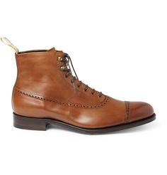Foot the CoacherGrenson Balmoral Leather Oxford Brogue Boots