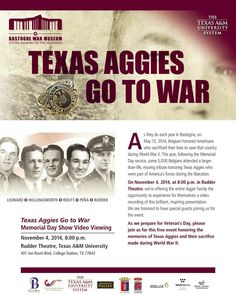"""Texas Aggies Go to War"" video"