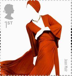 Great British Fashion 1st Stamp (2012) Jean Muir