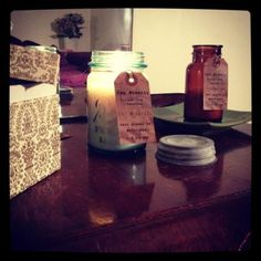 Zen Moments - my own perfect Zen Moment with the mason jar candle