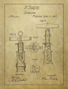 1862 Corkscrew Patent