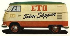 FFFFOUND! | Delicious Industries: Vintage VW Bus Signage