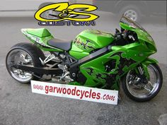 Wide tire kit by C and S Custom for Garwood Custom Cycles.