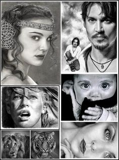 All pencil drawings...AMAZING!!!!!