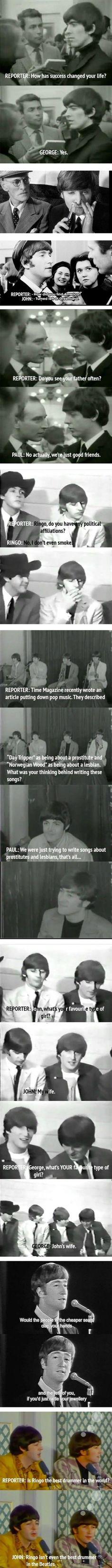 so apparently The Beatles were         -          Acid Fountain