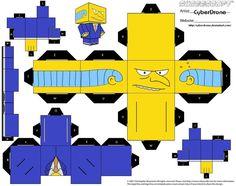 Cubee - Mr. Burns by CyberDrone.deviantart.com on @deviantART