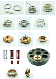 Process bague insert bois, le retour! - Anello con inserti in legno - wood and silver ring, tutorial