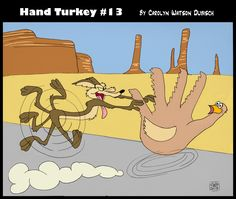 Hand turkey 13 is on the run Hand Turkey, Thanksgiving, Hands, Drawings, Fictional Characters, Art, Art Background, Thanksgiving Tree, Kunst