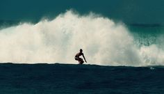 Surfing near Poipu, Hawaii