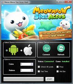 Meow Meow Star Acres Hack
