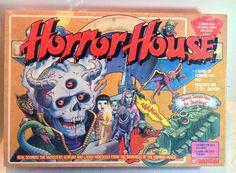 Horror House a game of horror and fun   BANDAI 1986